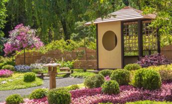 Східні сади: китайський та японський