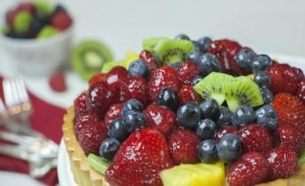 Французский фруктовый тарт