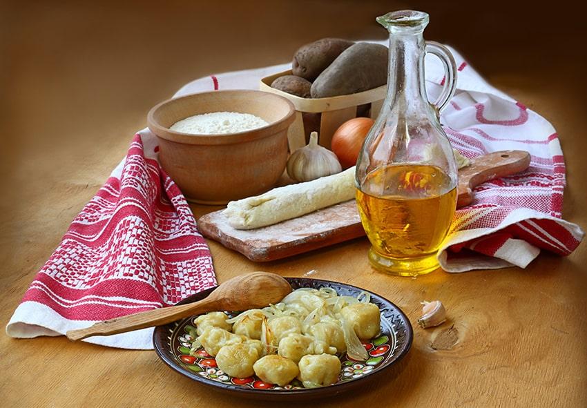 Картопляні галушки фото опис