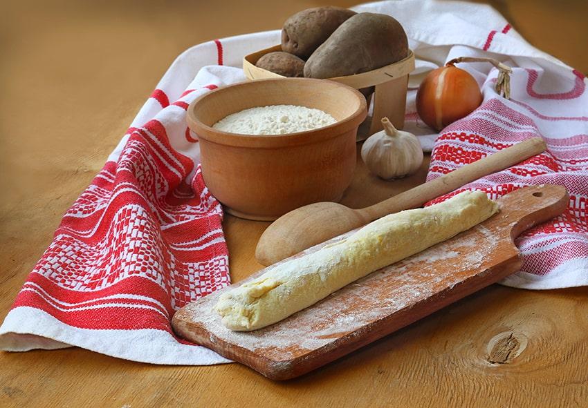 Приготування картопляних галушок
