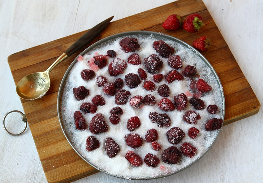 Пересипання плодів цукром фото опис