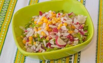 Весенние салаты и супы