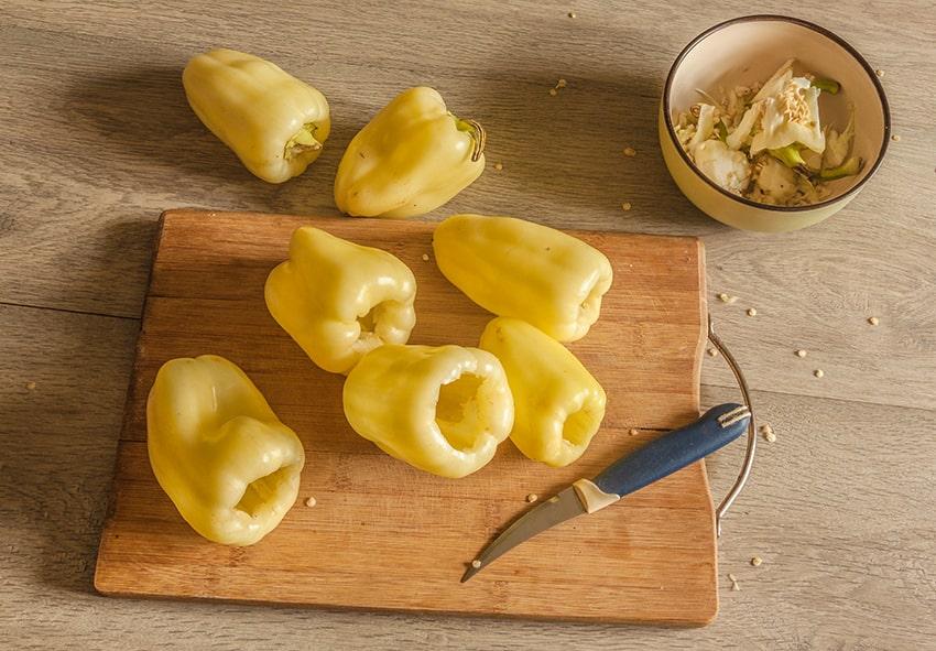 Приготування фаршированого перцю