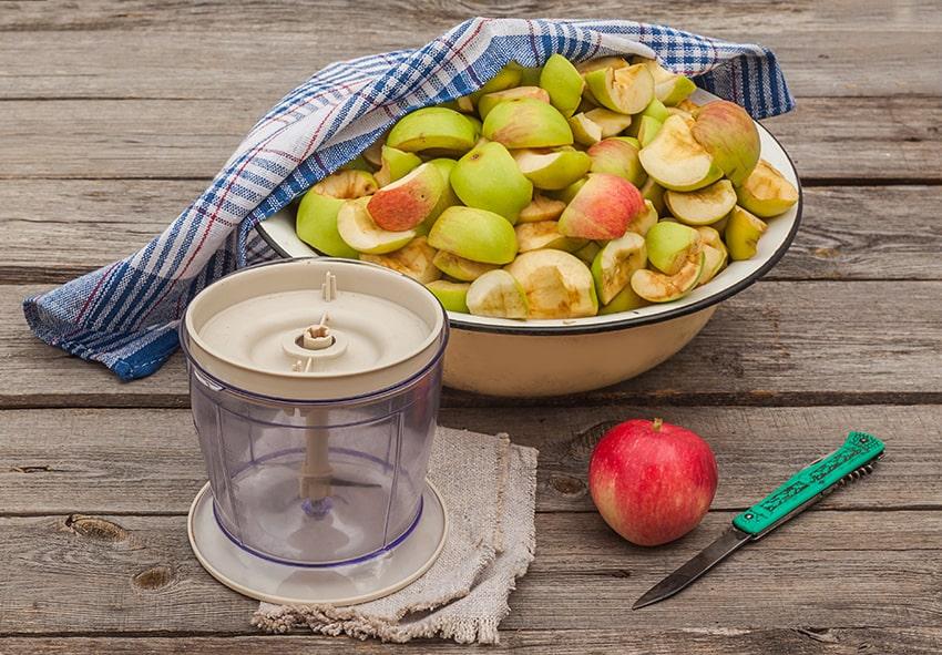Очищення яблук фото опис