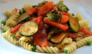 Овощная паста
