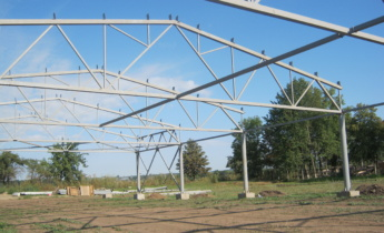 Мы начали строительство склада для многолетних растений