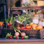 Фрукты и овощи в ландшафтном дизайне